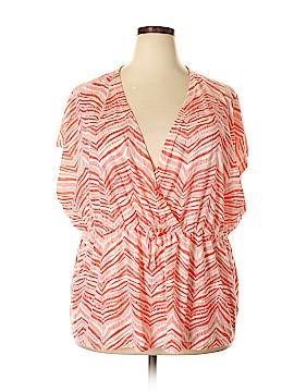 Jaclyn Smith Short Sleeve Top Size 3X (Plus)