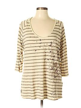 Life Is Good 3/4 Sleeve T-Shirt Size XL