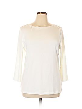 Talbots 3/4 Sleeve Top Size XL