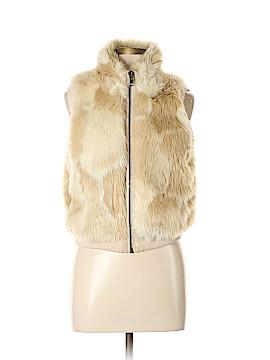 Tildon Faux Fur Vest Size L