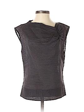 Costume National Short Sleeve Blouse Size 42 (EU)