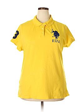 U.S. Polo Assn. Short Sleeve Polo Size 2X (Plus)