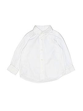 Milano Long Sleeve Button-Down Shirt Size 18