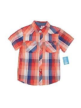 Lucky Brand Short Sleeve Button-Down Shirt Size 7