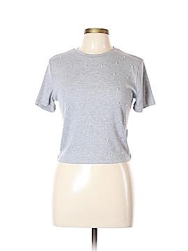 Zara TRF Short Sleeve Top Size L
