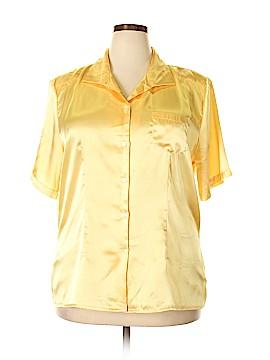 Christie & Jill Short Sleeve Blouse Size 20 (Plus)