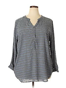 Grand & greene Long Sleeve Blouse Size 2X (Plus)