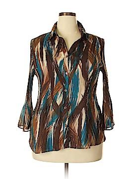 Serenade Long Sleeve Blouse Size 2X (Plus)
