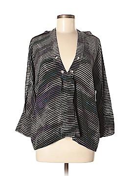 IRO 3/4 Sleeve Silk Top Size 36 (FR)