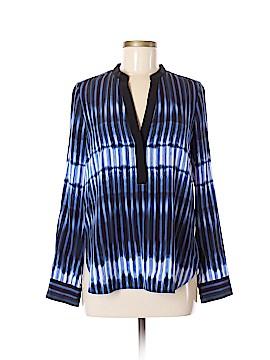 Vince. Short Sleeve Silk Top Size 6