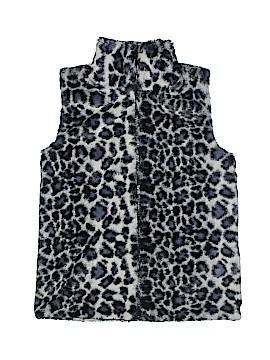 Aqua Faux Fur Vest Size M (Youth)
