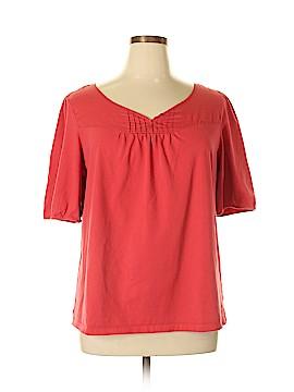 Fashion Express Short Sleeve Top Size 1X (Plus)
