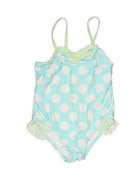 Breaking Waves One Piece Swimsuit Size 4T