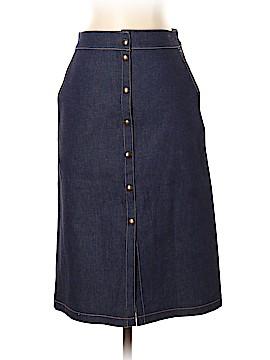Susan Lazar Denim Skirt Size 4