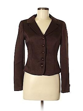 W by Worth Silk Blazer Size 4