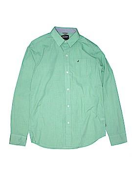 Nautica Long Sleeve Button-Down Shirt Size 18 - 20
