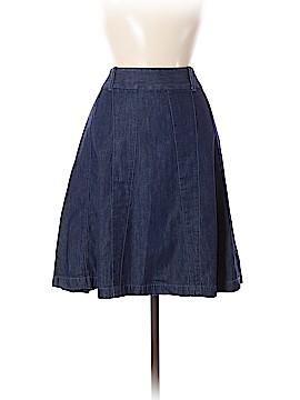 Ann Taylor Factory Denim Skirt Size 6