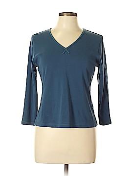 Sigrid Olsen Long Sleeve Top Size L (Petite)