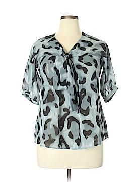 Ninety Short Sleeve Blouse Size M
