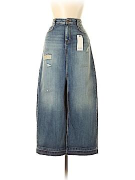 Zara Basic Denim Skirt Size M