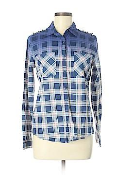 Nollie Long Sleeve Button-Down Shirt Size M