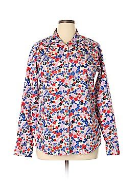 Lands' End Long Sleeve Button-Down Shirt Size 14 (Tall)