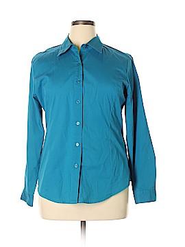 Chadwicks Long Sleeve Button-Down Shirt Size XL