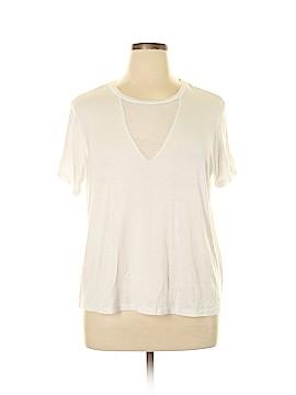 Rue21 Short Sleeve Top Size 1X (Plus)