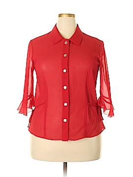 J.B.S. 3/4 Sleeve Blouse Size 16