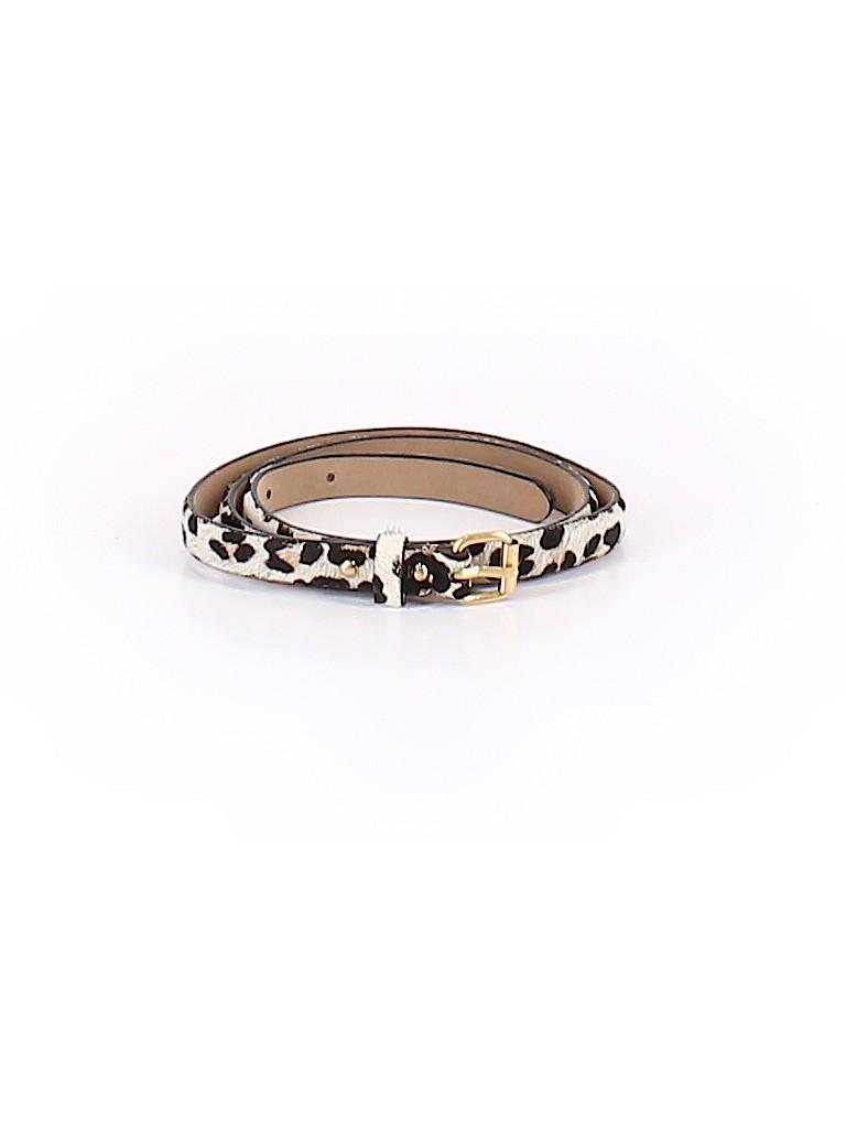 5c39e83e37 Ann Taylor 100% Leather Animal Print Beige Leather Belt Size S - 80 ...