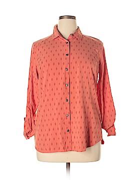 Orvis Long Sleeve Blouse Size L
