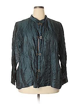 Citron Santa Monica Collection Jacket Size 3X (Plus)