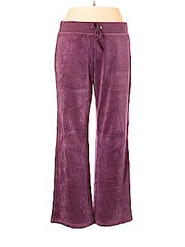 New York & Company Velour Pants Size XL
