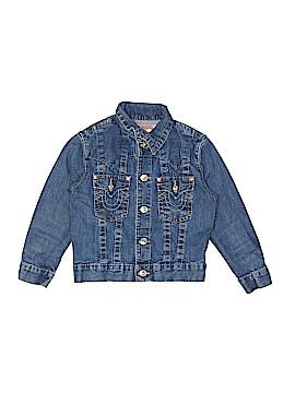 True Religion Denim Jacket Size L (Kids)