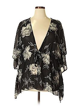 Millenium Short Sleeve Blouse Size 22 (Plus)