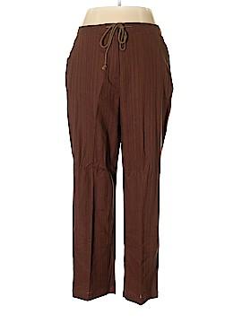 Roaman's Linen Pants Size 18 (Plus)