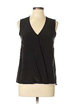 Nicole Miller Artelier Sleeveless Silk Top Size M
