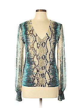 Roberto Cavalli Cashmere Pullover Sweater Size 48 (IT)