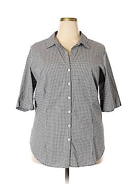 Venezia Short Sleeve Button-Down Shirt Size 28 - 26 Plus (Plus)