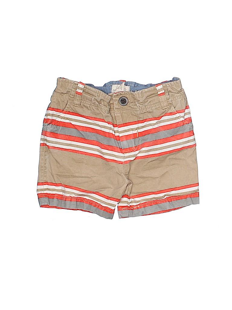 Peek... Girls Khaki Shorts Size 12-18 mo