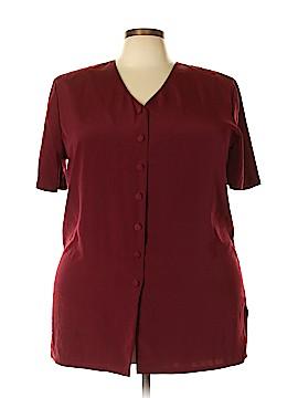 Sag Harbor Short Sleeve Blouse Size 20 (Plus)