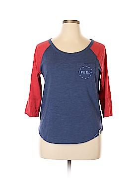 Feed USA + Target 3/4 Sleeve T-Shirt Size XL