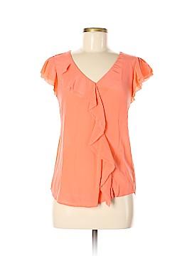 Maeve Short Sleeve Silk Top Size 6