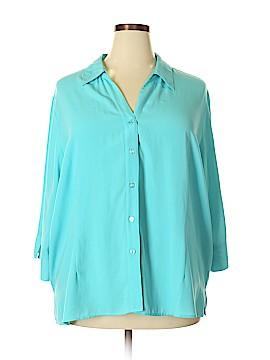 Blair 3/4 Sleeve Blouse Size 3X (Plus)