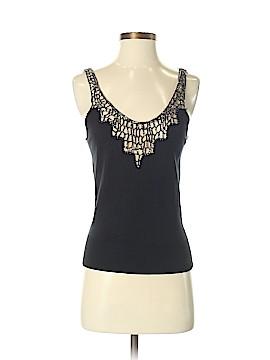 Rebecca Taylor Sleeveless Silk Top Size S