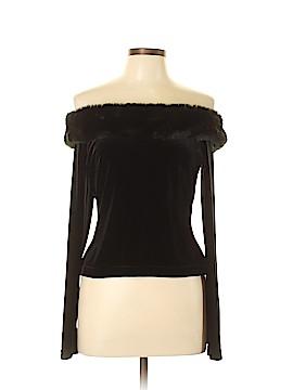 Cachet Long Sleeve Top Size L