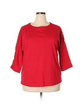 IZOD 3/4 Sleeve Top Size XXL