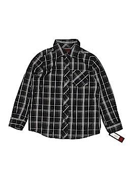 Tony Hawk Long Sleeve Button-Down Shirt Size 5 - 6