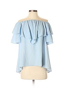 HEATHER Short Sleeve Blouse Size XS