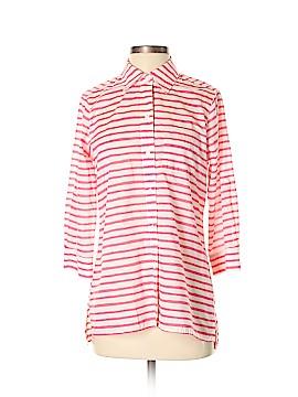 Foxcroft 3/4 Sleeve Button-Down Shirt Size 4